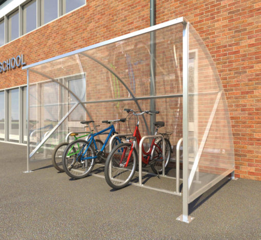 Eco 10 Cycle Shelter