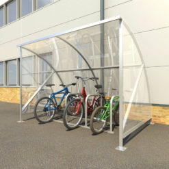 Eco 8 Cycle Shelter
