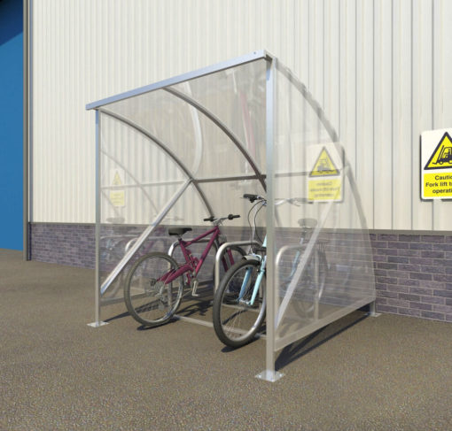 Eco 6 Cycle Shelter