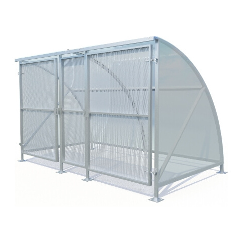 Eco 10 Gated Cycle Shelter